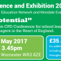 WEN Education Conference and Exhibition 2017 – 19th May, Worcester
