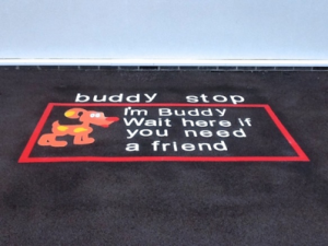 Buddy Stop Line Marking