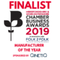 Witley Jones Furniture Shortlisted for HW Chamber of Commerce Business Awards